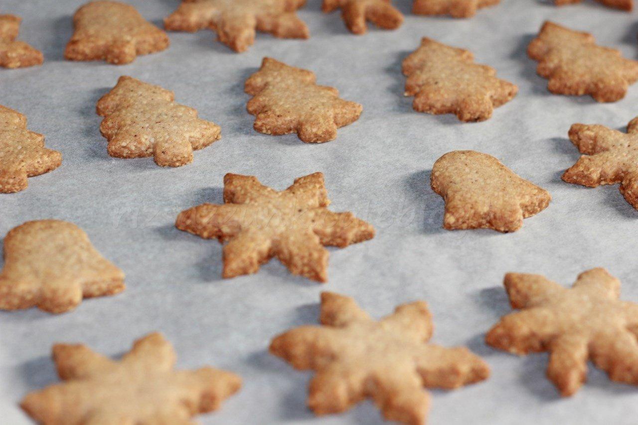 karácsonyi mandulás keksz